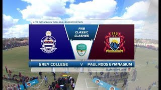 FNB Classic Clashes | Grey College vs Paul Roos | 1st half