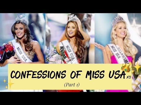 Confessions of Miss USA  | Sharing the BEST and WORST parts of being Miss USA | Part 1