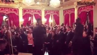 MHD et Black M ambiancent François Hollande à l'Élysée !