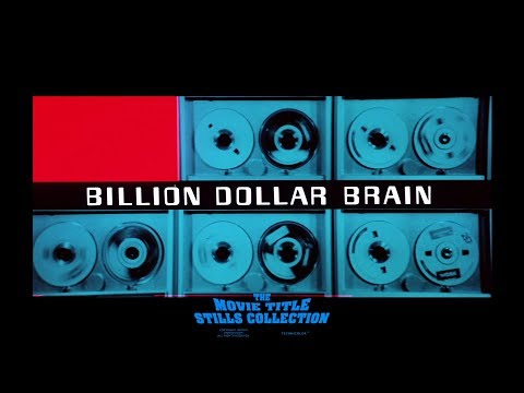 Billion Dollar Brain (1967) title sequence