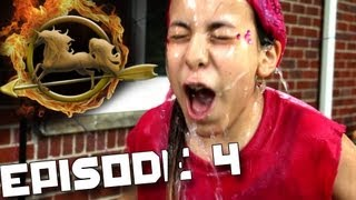 Freezing Cold Obstacle Course! (Backyard Hunger Games - Episode 4)