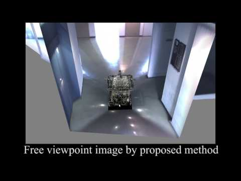 Free Viewpoint Image Generation in Man-made Environments (SI2016)