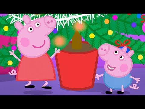 Peppa Pig Nederlands Compilatie Nieuwe Afleveringen 🎄 De Kerstboom Versieren 🎄 Tekenfilm