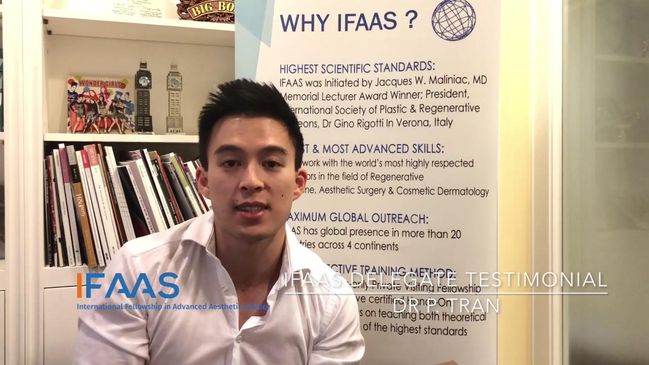 IFAAS Delegate Testimonial - Dr  P  Tran   Australia