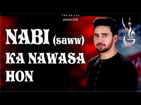 Farhan Ali Waris   Nabi Ka Nawasa Hun   New Noha   2018 / 1440