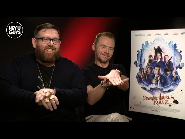 Simon Pegg & Nick Frost on their first Stolen Picture project Slaughterhouse Rulez