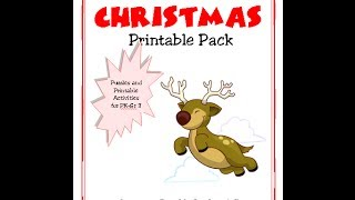 Christmas Junior Printable Activity Pack