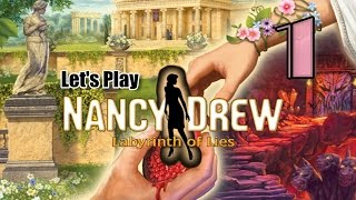 Nancy Drew 31: Labyrinth of Lies [01] w/YourGibs - GORGEOUS GREECE START - OPENING - Part 1