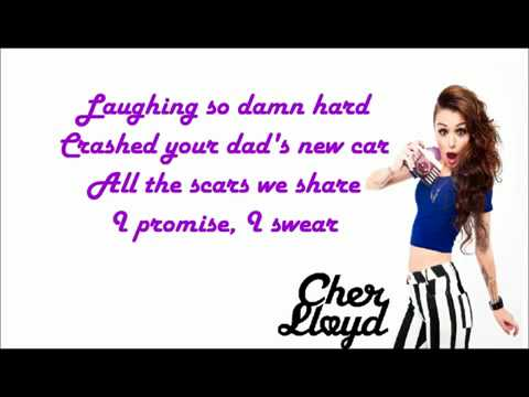 Cher Lloyd ft. Becky Gomez - Oath (LYRICS ON SCREEN) with download mp3