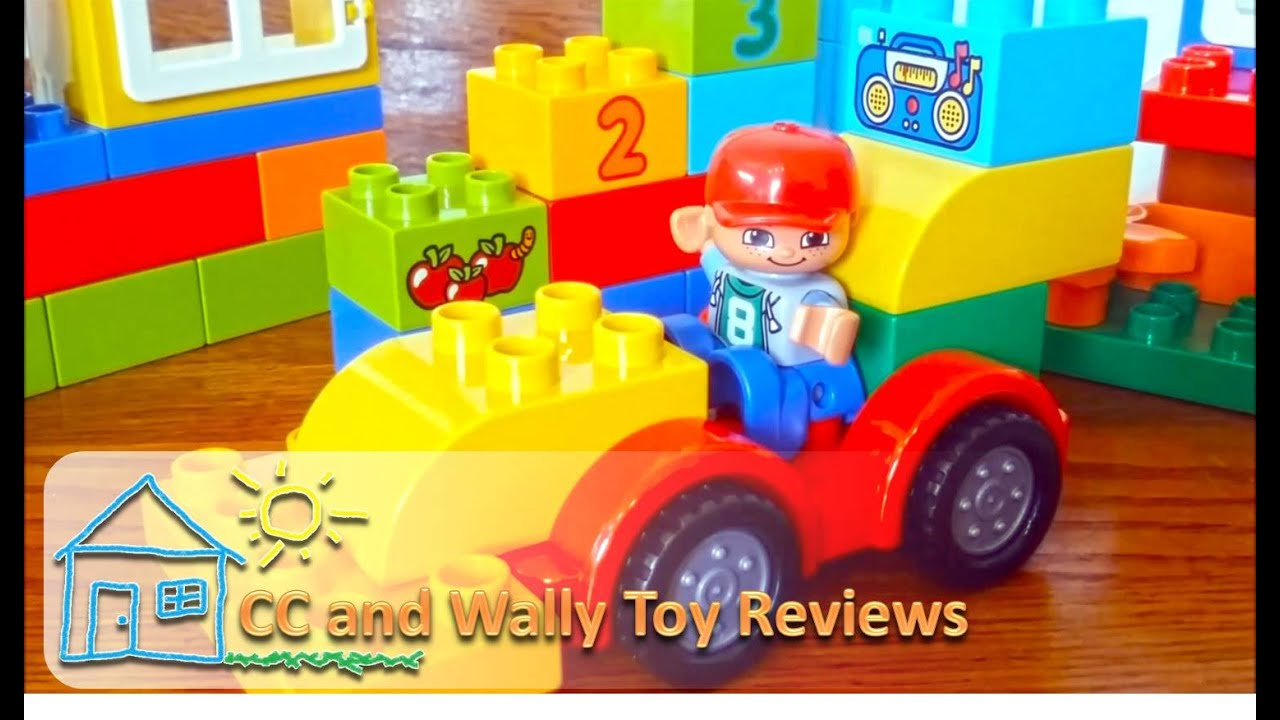 Lego Duplo 10572 Cc And Wally Toy Reviews Youtube