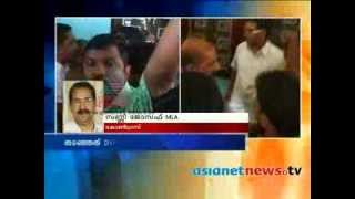DYFI activists protests by Abdullakutty MLA in Kannur