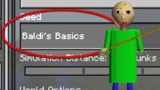 Do NOT Play the BALDI