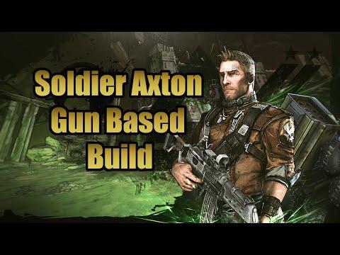 Borderlands 2: Soldier Axton (Gun Based Build) w/ Download