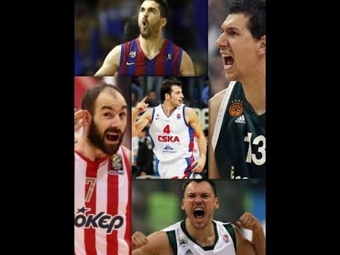 The Game of Legends (Diamantidis,Jasikevicius,Spanoulis,Navarro,Papaloukas)