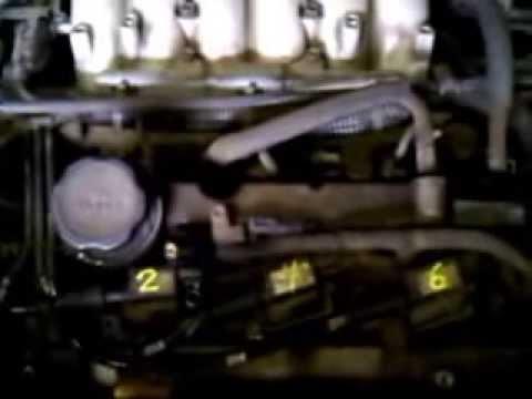 03 Kia Sedona 35L firing order  YouTube