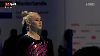 Angelina Melnikova RUS FX @ Swiss Cup 2018