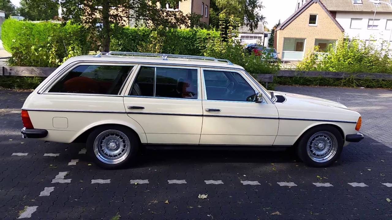79 Mercedes 300td W123 S123 Om 617 Station Wagon Ex Taxi Youtube