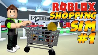 ALIŞVERİŞ ÇILGINIYIZ!!! / Roblox Shopping simulatore / Roblox Türkçe