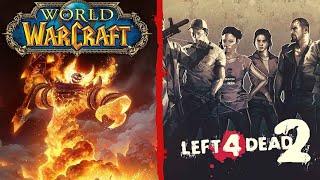 World Of Warcraft + Left 4 Dead 2 - con subs - En Español