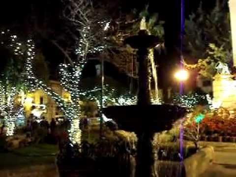 Luces de navidad en jardin independencia youtube - Luces de jardin ...
