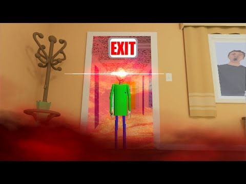 Ambitious Baby Summons BALDI From BALDI'S BASICS With A FORBIDDEN RITUAL?! - Baby Hands Gameplay