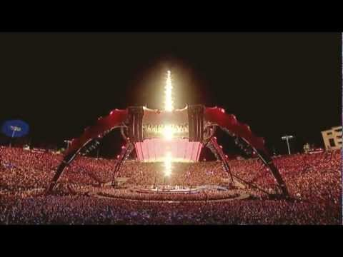 U2 - Where The Streets Have No Name - 360 Tour - Rose Bowl - HD