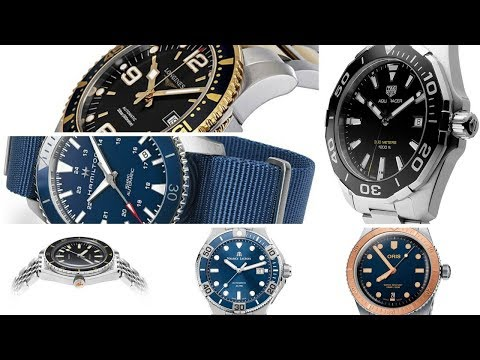 10 Best Entry-Level Luxury Dive Watches