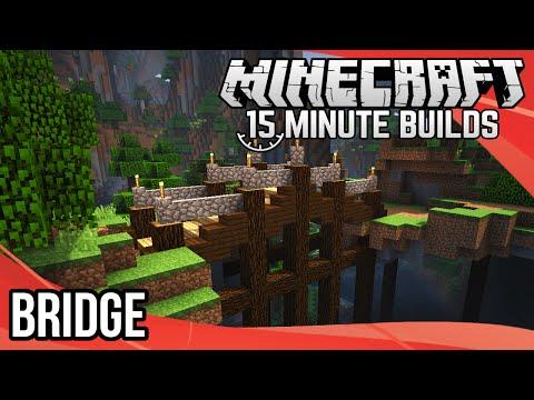 Minecraft 15-Minute Builds: Bridge!