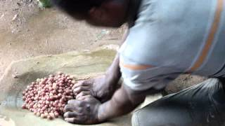 Part 2. Making Translucent Recycled Glass Beads - Koforidua, Ghana