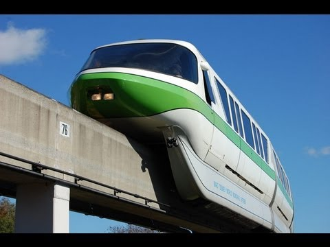 Walt Disney World Monorail to the Magic Kingdom 2012 HD POV Ride through
