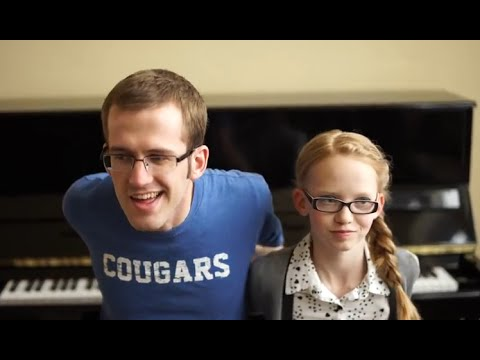 """Frozen"" Mashup + Backwards Piano - The Piano Gal   Sara Arkell & Jason Lyle Black"
