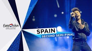 Blas Cantó - Voy A Quedarme - LIVE - Spain 🇪🇸 - Second Semi-Final - Eurovision 2021