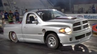 WORLD RECORD - 7 Second SRT-10 Truck!
