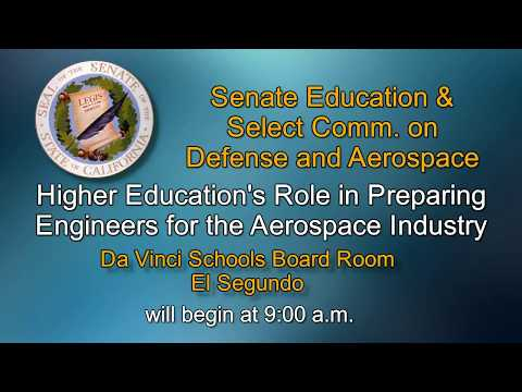 SENATE EDUCATION COMMITTEE HEARING