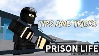 ROBLOX - Prison Life Tips and Tricks