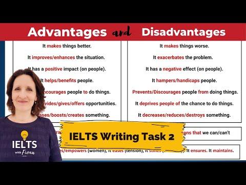 IELTS Writing: Advantages and Disadvantages Task 2 Essay