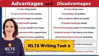 ielts writing task 2 advantages and disadvantages essay topics