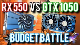 RX 550 vs GTX 1050: Which Budget GPU Should YOU Buy?