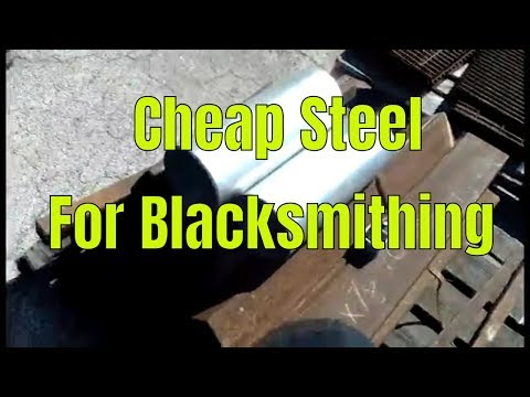 Blacksmith - Buying Cheap Steel
