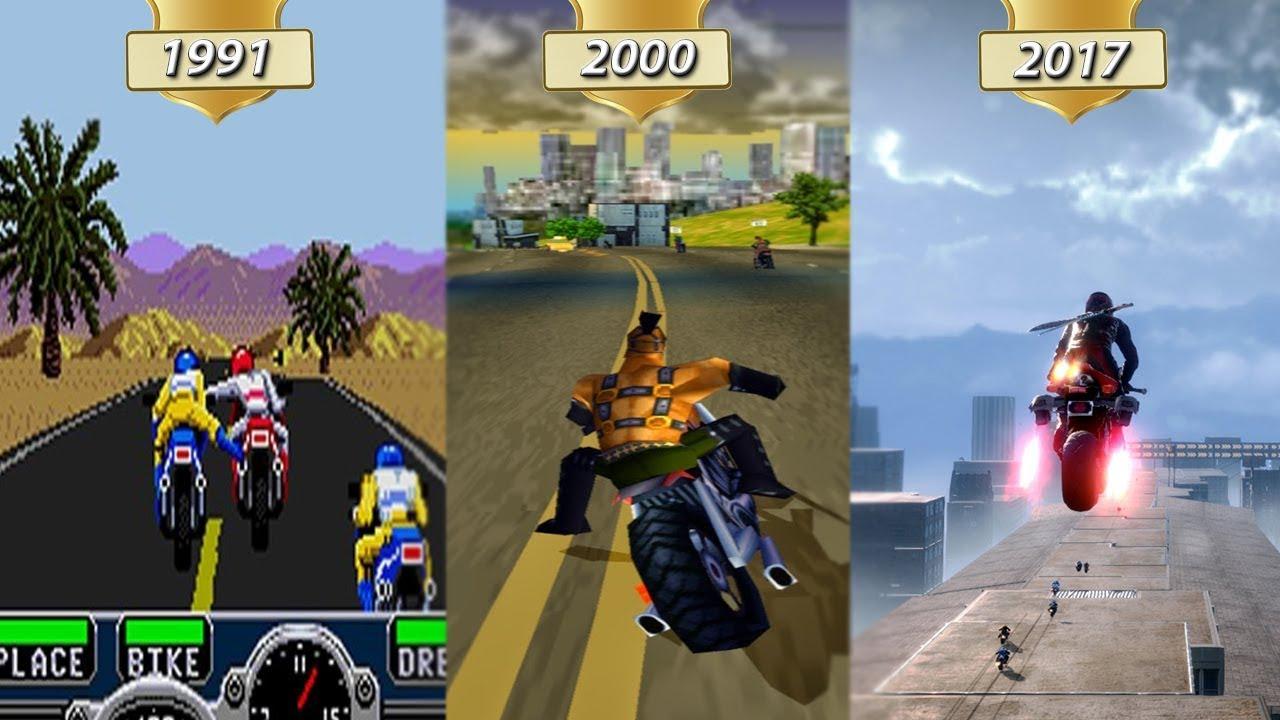 Download RoadRash Evolution! 1991-2017