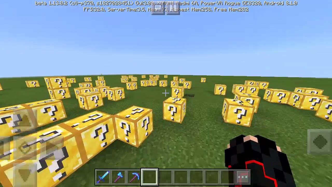 мод на лаки блоки в майнкрафт 0.14.1 #7