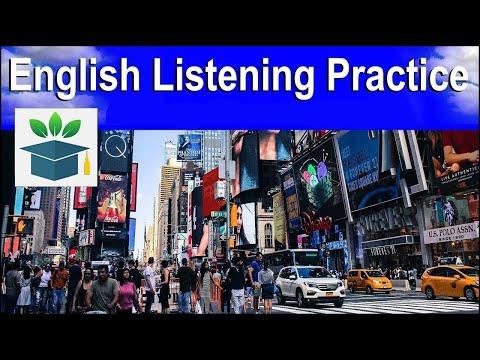 English Listening Practice, ★ NEW ★ English Language Immersion