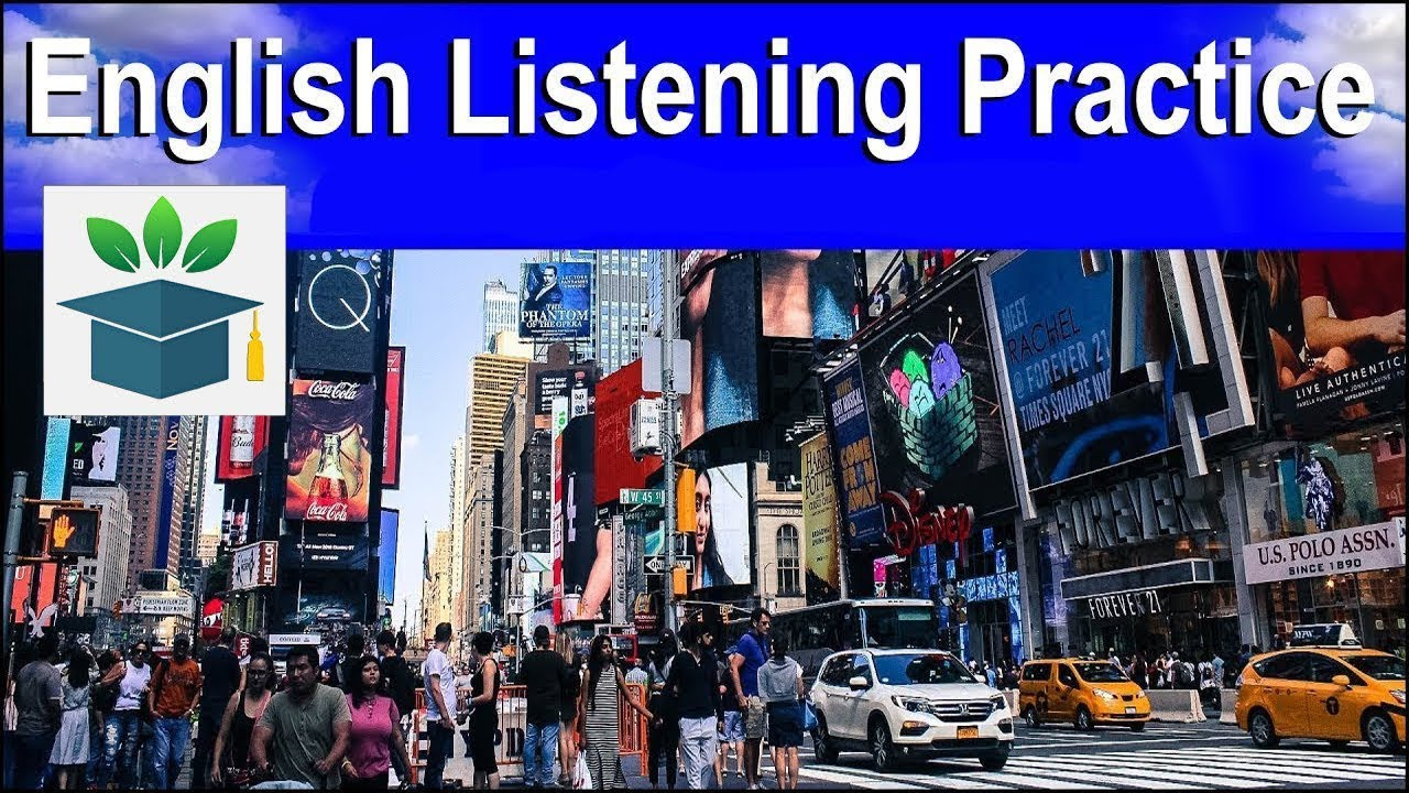 English Listening Practice to improve your conversation skills