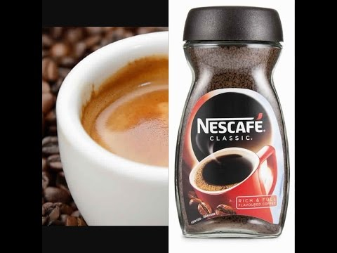 Make An EXPRESSO Coffee  With NESCAFE