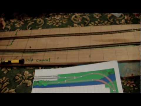 From Paper to Baseboard – How To Build a Model Railway Layout  – N Gauge  (Part 1)