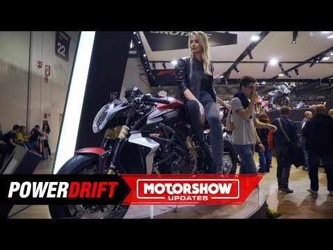 MV Agusta Brutale  Serie Oro : Can blow your face away : EICMA  : PowerDrift