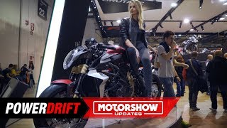 2019 MV Agusta Brutale 1000 Serie Oro : Can blow your face away : EICMA 2018 : PowerDrift