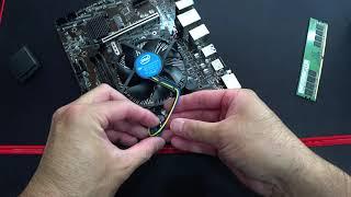 ODD가 필요한 컴퓨터 조립하기  (씨디롬 장착컴 조립)