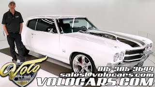 1970 Chevrolet Chevelle SS for sale at Volo Auto Museum (V18907)