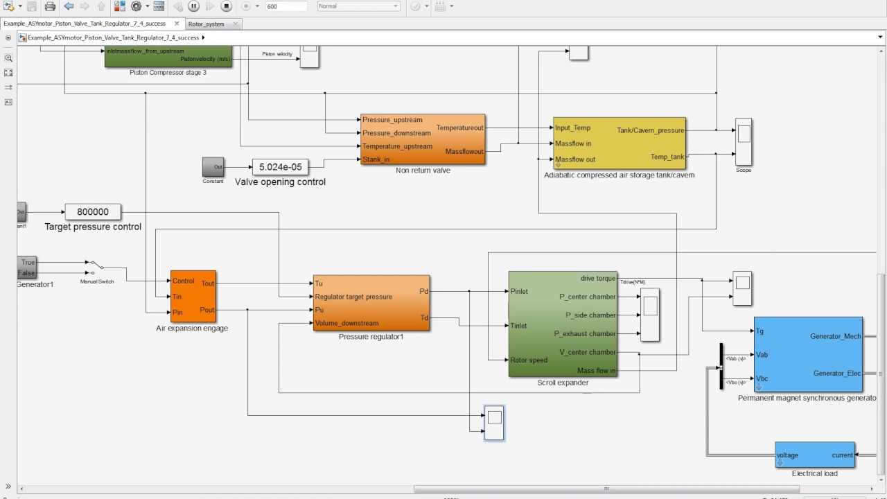Energy storage CAES-TES software toolbox introduction with Matlab/Simulink